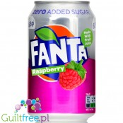 Fanta Raspberry Zero no added sugar 4kcal, can