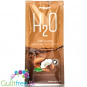Prozis H2O Infusions Exotic Coconut sugar free instant drink in a sachet, with vitamin C