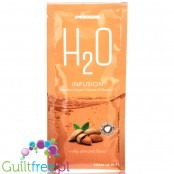 Prozis H2O Infusions Milky Almond sugar free instant drink in a sachet, with vitamin C