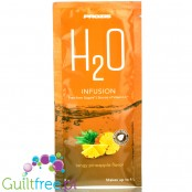 Prozis H2O Infusions Tangy Pineapple sugar free instant drink in a sachet, with vitamin C