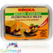 Koska sugar-free halvah with hazelnuts