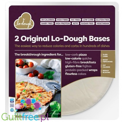 Lo-Dough ultra low carb bred & pastry alternative 39kcal