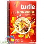 Turtle Porridge Carrot Cake - no added sugar organic porridge