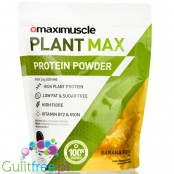Maximuscle Plant Max 480g Banana Fudge