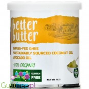 KetoSports Better Butter - ghee, avocado oil & coconut oil high MCT organic formula