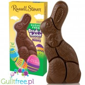 Russell Stover Sugar Free Milk Chocolate Rabbit, Break-Apart Bunny