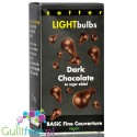 Zotter LightBulbs - dark chocolate 75% cocoa with erythritol
