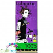 Zotter Labooko Peru 100% - BIO dark chocolate 100% cocoa, no sugar nor sweeteners