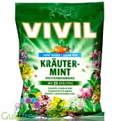 Vivil Herbs & Mint sugar free candies with extract of 23 herbs