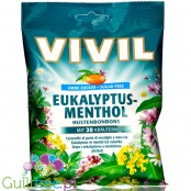 Vivil Euka-Menthol sugar free candies with 20 herbs extract