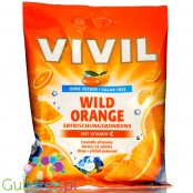 Vivil Wild Orange sugar free candies with vit C