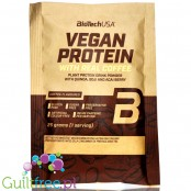 BioTech Vegan Protein Coffee - vegan protein powder with acai, goji & quinoa, sachet