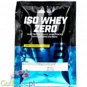 BioTech USA Iso Whey Zero, Lemon Cheesecake, sachet 25g
