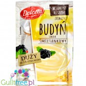 Delecta sugar free sweet cream pudding without sweeteners
