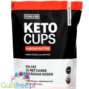 Eating Evolved Keto Cups, Almond