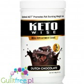 Healthsmart Keto Wise Meal Replacement Shake, Dutch Chocolate