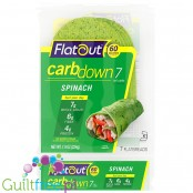 Flatout CarbDown Spinach - low carb & high fiber flat breads