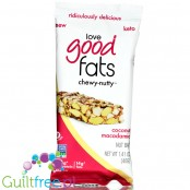 Love Good Fats Chewy-Nutty Bar, Coconut Macadamia