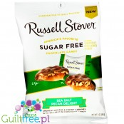 Russell Stover Sugar Free Peg Bag Candy, Sea Salt Pecan Delight