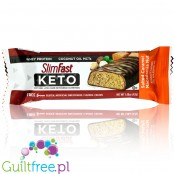 Slim Fast Keto Meal Bar, Salted Caramel Macadamia Nut
