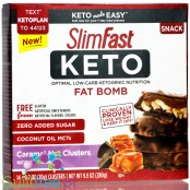 SlimFast Keto Fat Bomb Caramel Nut Cluster with MCT