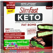 Slim Fast Keto Fat Bomb Chocolate Mint Cups with MCT