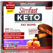 Slim Fast Keto Fat Bomb Caramel Cup with MCT