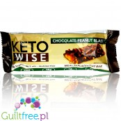 Healthsmart Keto Wise Meal Replacement Bar, Chocolate Peanut Blast