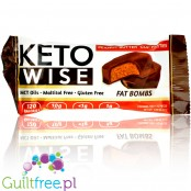 Healthsmart Keto Wise Fat Bomb, Peanut Butter Cup Patties