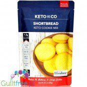 Keto & Co Cookie Mix, Shortbread keto cake mix