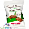 Russell Stover Sugar Free Peg Bag Candy, Toffee Squares Covered in Chocolate Candy