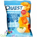 Baked Protein Chips from Cheddar & Sour Cream