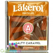 Läkerol Salty Caramel - sugar free licorice with stevia