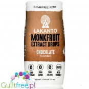 Lakanto Liquid Monkfruit Sweetener, Chocolate