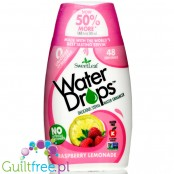 SweetLeaf Water Enhancer Drops Rapberry Lemonade, naturalny smacker do wody ze stewią