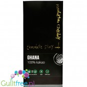 Chocolate Story Ghana 100% - dark chocolate 100% cocoa, no sugar nor sweeteners