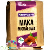 NaturAvena full fat almond flour from ground almond seed
