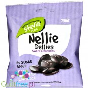 Nellie Dellies Sweet Liquorice - sweet, sugar free licorice with stevia