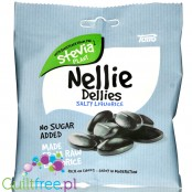 Nellie Dellies Salty Liquorice - sugar free licorice with stevia