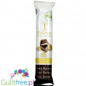 Balance Stevia Dark Banana ugar reduced dark chocolate