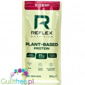 Reflex Nutrition Plant-Based Protein Wild Berry, Single Sachet