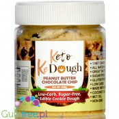 Keto KeDough Low Carb, Edible Cookie Dough, PB Chocolate Chip