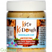 Keto KeDough Low Carb, Edible Cookie Dough, Chocolate Chip