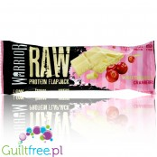Warrior Raw Protein Flapjack White Chocolate Cranberry