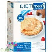 Dieti Meal High protein coconut flavored pancakes
