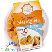 Krunchy Melts Sugar Free Meringues, Tangerine