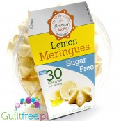 Krunchy Melts Sugar Free Meringues, Lemon