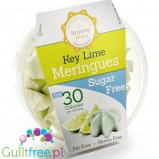 Krunchy Melts Sugar Free Meringues, Key Lime