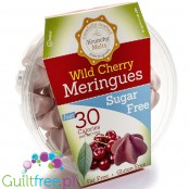Krunchy Melts Sugar Free Meringues, Wild Cherry