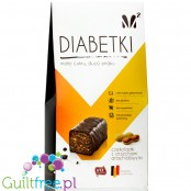 Diabetki no added sugar chocolate candies with peanuts